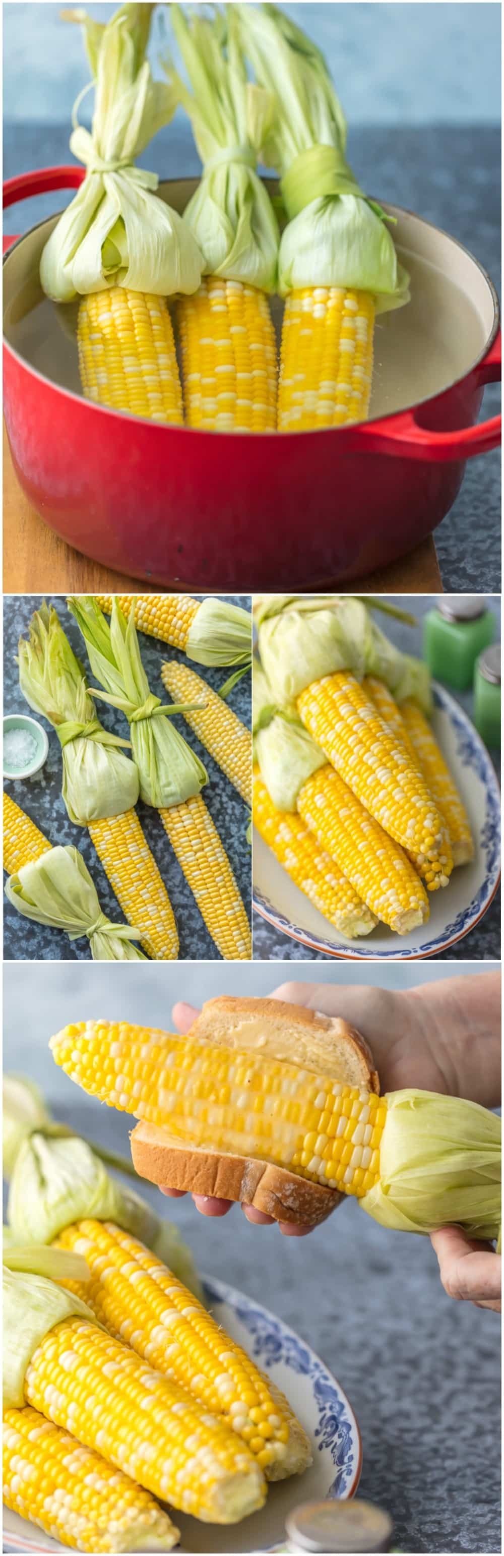 Have you wondered HOW TO COOK CORN ON THE COB? It's never been easier. A few secret tricks to making the most delicious sweet corn every Summer!