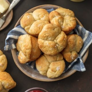 These ICEBOX DINNER ROLLS are the perfect easy homemade bread for every occasion, especially Thanksgiving and Christmas! Impress your holiday guests with these delicious and soft rolls.