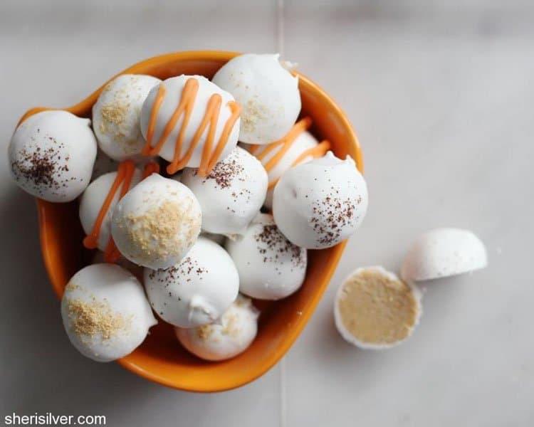 Pumpkin Spice Latte Truffles | Sheri Silver