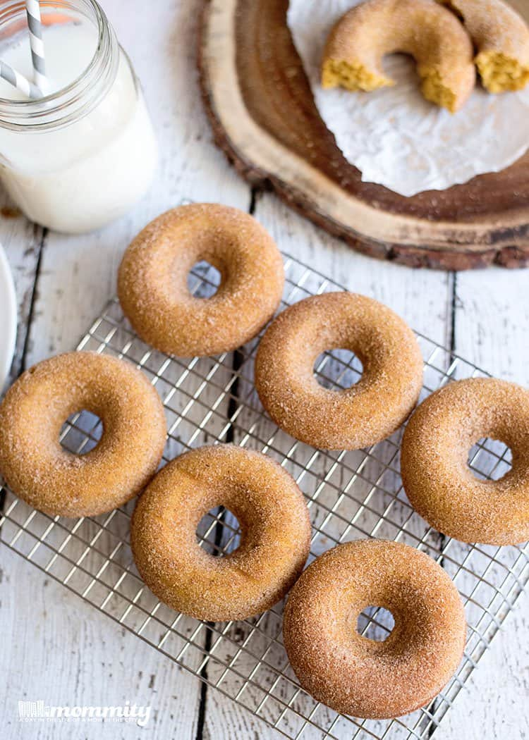Baked Pumpkin Spice Donut | Mommity