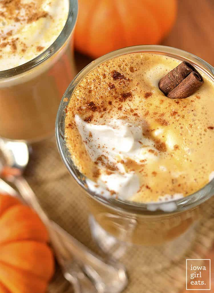 Easy Pumpkin Spice Latte 3-Ways | Iowa Girl Eats