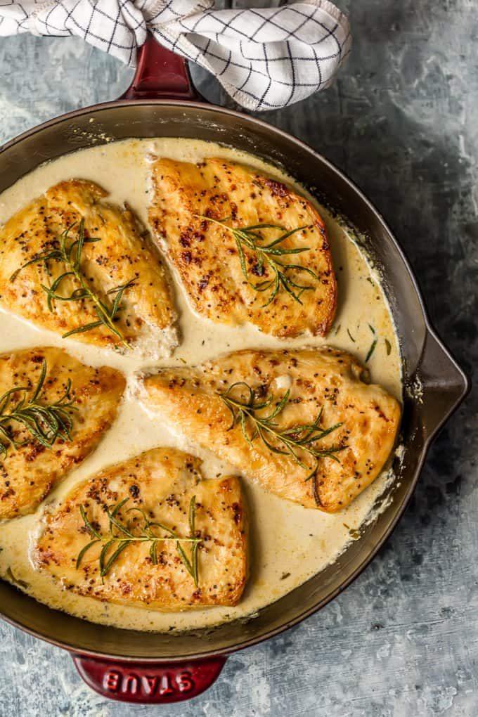 Chicken Dijon With White Wine Sauce White Wine Chicken
