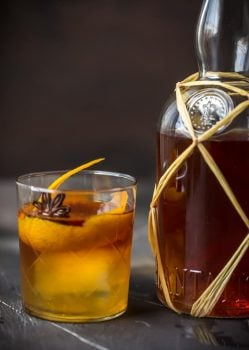This is the Best Spiced Rum Recipe you'll ever make! This Homemade Rum Recipe is so easy to make and it will blow you a way with its flavor. So much tastier than buying in store. Of all the Spiced Rum Recipes out there, I promise this is the best. This Spiced Rum Recipe makes an awesome DIY Christmas gift or a great cost saving recipe to make for yourself any time of year!
