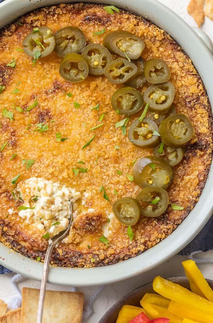 Hot Jalapeno Popper Dip recipe