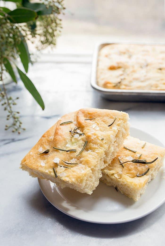 Small Batch Focaccia | Dessert For Two