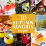 10 Autumn Sangria Recipes