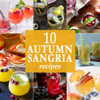 10 Autumn Sangria Recipes