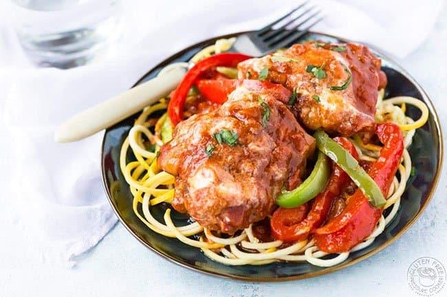 Pressure Cooker Chicken Paprikash | Gluten Free Pressure Cooker