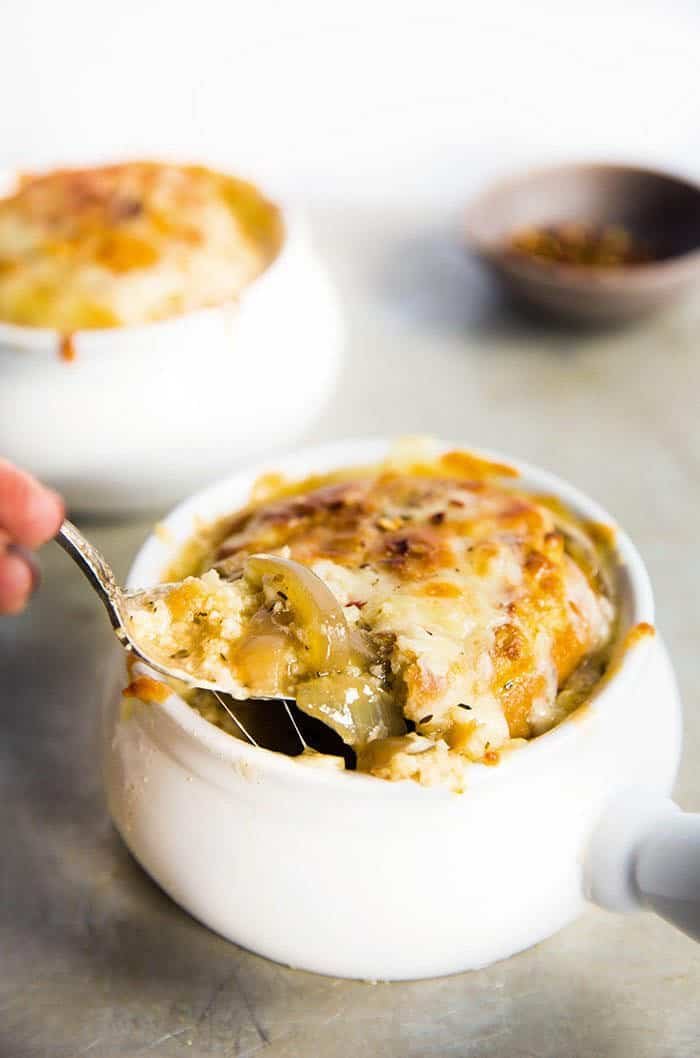 Slow Cooker French Onion Soup | Lexi's Clean Kitchen