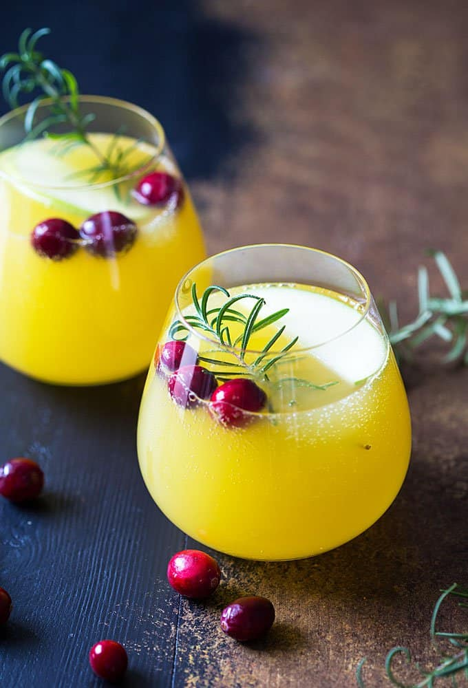 Champagne Sangria | The Blond Cook