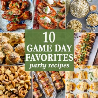 10 Game Day Favorites