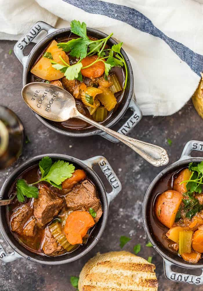 Slow Cooker Guinness Beef Stew | The Cookie Rookie