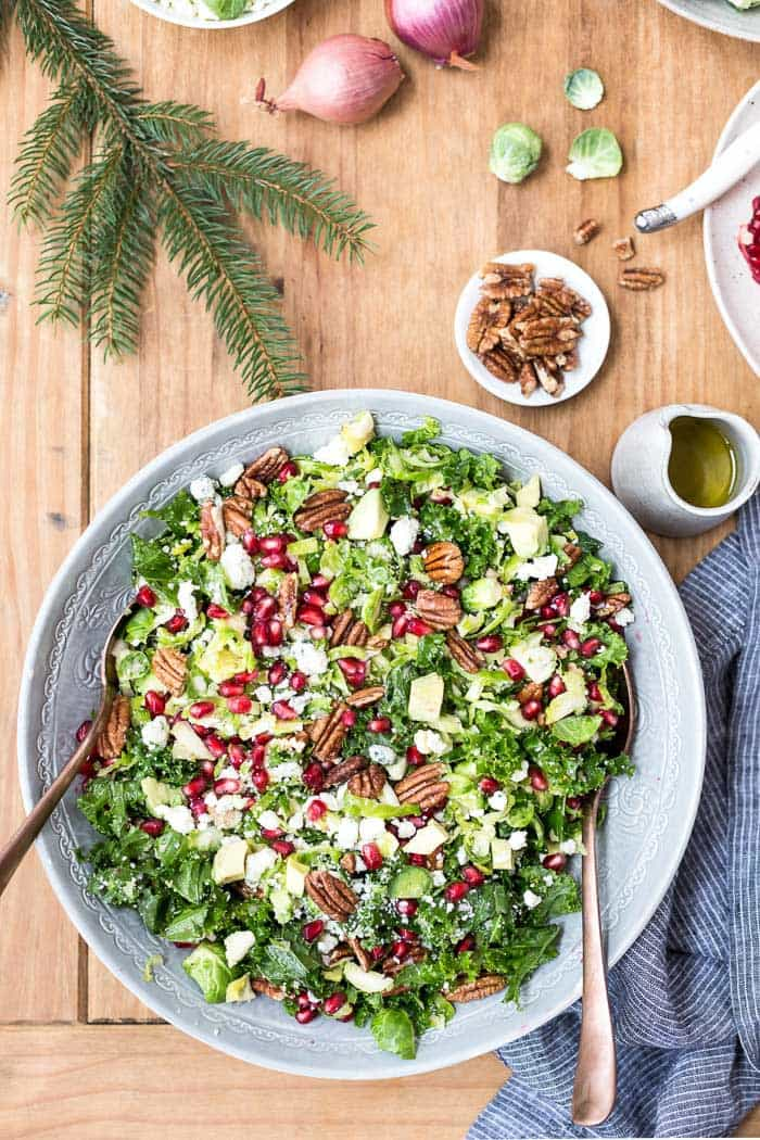 Brussels Sprouts Kale Salad   Foolproof Living