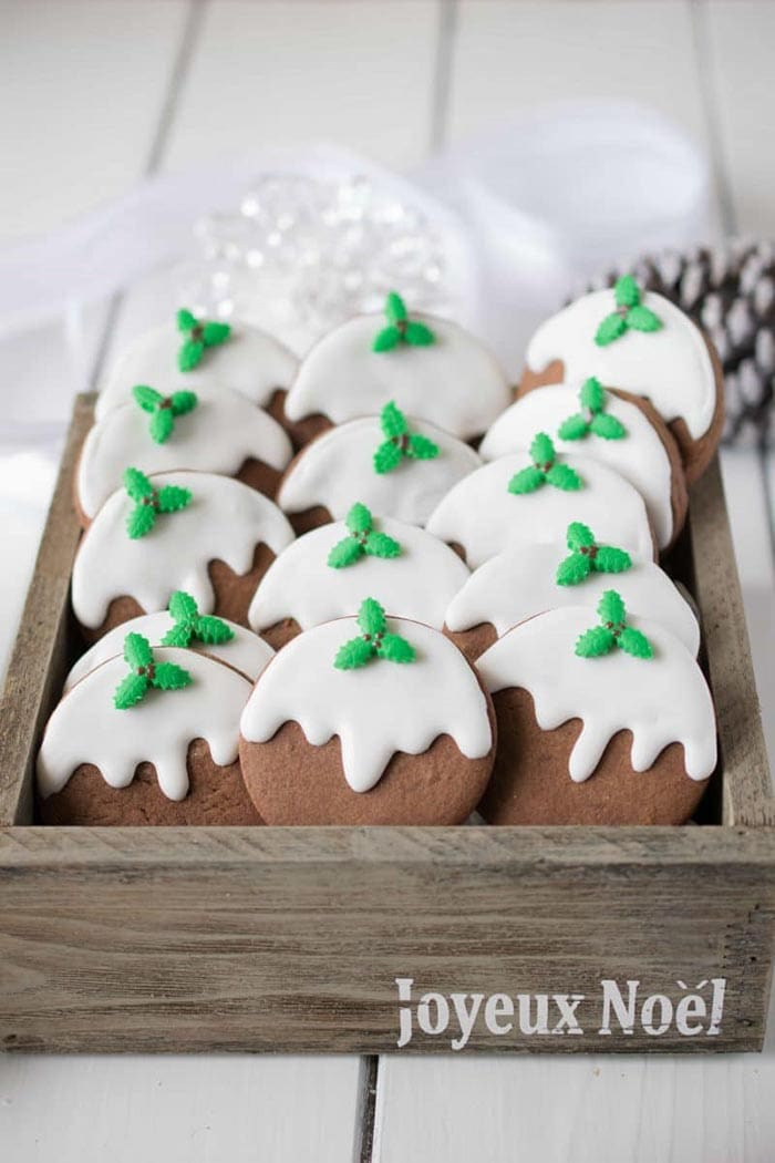 Christmas Pudding Cookies | Culinary Ginger