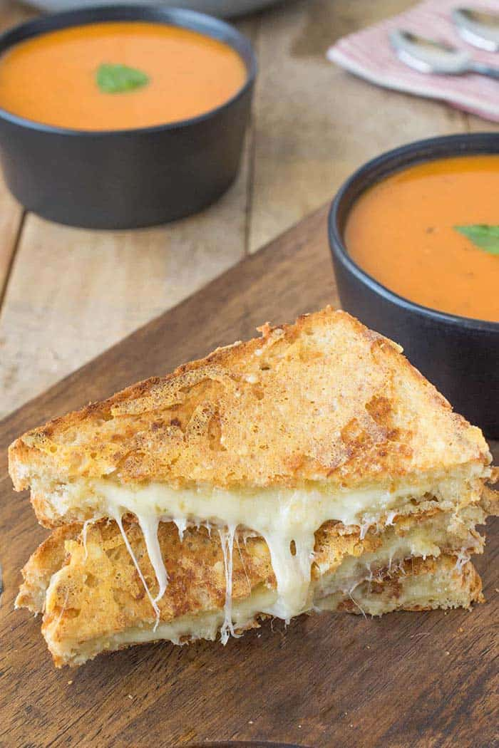 Tripled Grilled Cheese | Culinary Ginger