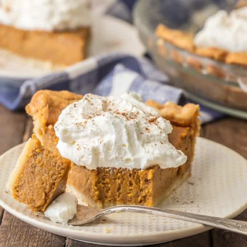 Pumpkin Pie is a must make for Thanksgiving. This Homemade Pumpkin Pie Recipe is an elevated classic by using Brown Sugar! If you've wondered How to Make Pumpkin Pie and thought it was too difficult for you, today is the day to learn. This Pumpkin Pie Recipe is delicious and SO EASY! Don't miss our.