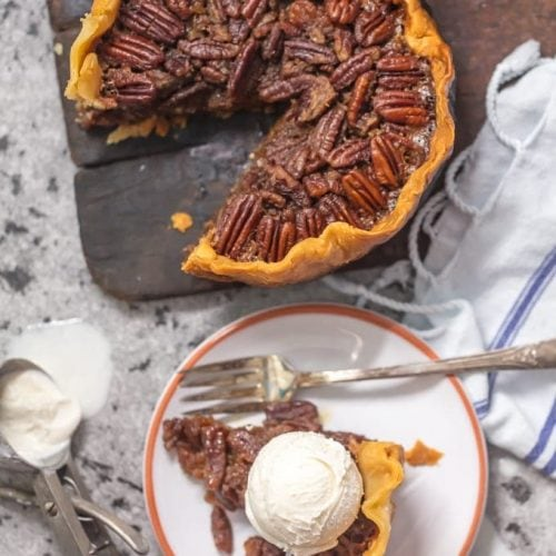 Crock Pot Pecan Pie is such an EASY Pecan Pie Recipe, you won't believe you taste buds! This SLOW COOKER PECAN PIE will knock your socks off and make for a delicious and easy Thanksgiving, Christmas, or Easter! This is the BEST Pecan Pie Recipe we have ever tasted, and it just so happened to be made in a slow cooker. Win win!