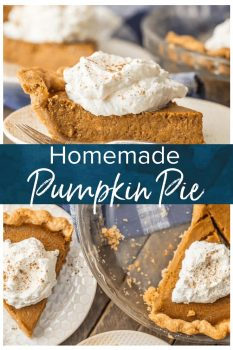 Pumpkin Pie is a must make for Thanksgiving. This Homemade Pumpkin Pie Recipe is an elevated classic by using Brown Sugar!If you've wondered How to Make Pumpkin Pie and thought it was too difficult for you, today is the day to learn. This Pumpkin Pie Recipe is delicious and SO EASY! Don't miss out.