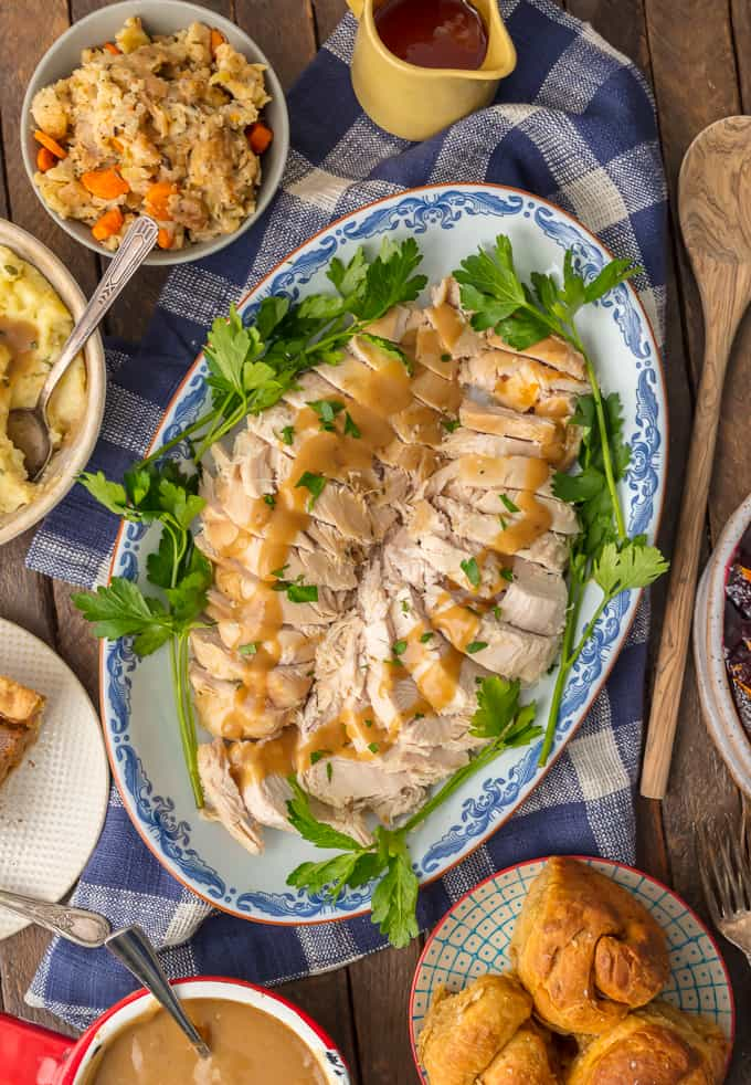 Easy Thanksgiving Recipes: Instant Pot Turkey