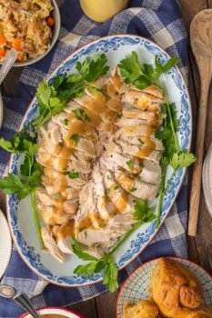 Instant Pot Turkey Breast is a great and EASY way to cook your Thanksgiving Turkey! You can cook this INSTANT POT TURKEY BREAST RECIPE in under an hour and be ready for Thanksgiving! Cooking Turkey Breast in a pressure cooker takes off all the pressure (ha) of making the Thanksgiving Turkey so you can just enjoy your holiday. Pressure Cooker Turkey Breast is quick, easy, and always JUICY!