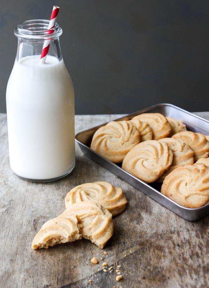 Vanilla Malted Cookies | The Little Epicurean