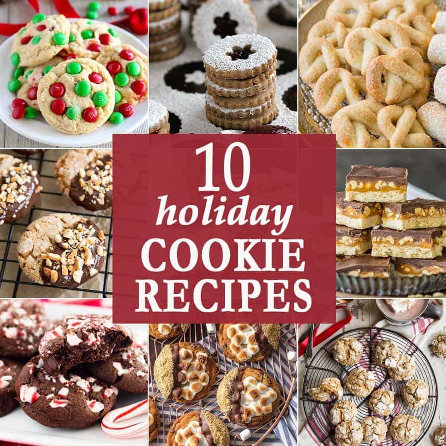 10 Holiday Cookies | The Cookie Rookie