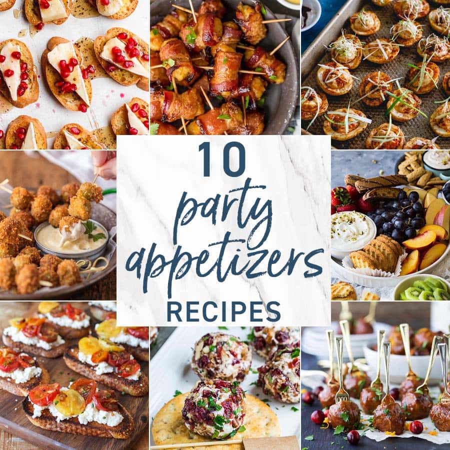 10 Party Appetizers