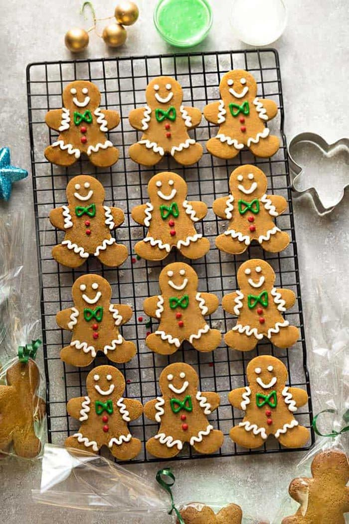 Gingerbread Men Cookies | Life Made Sweeter