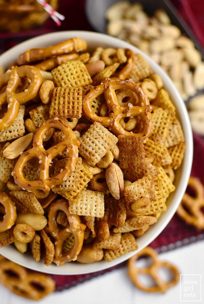 Gluten Free Chex Mix | Iowa Girl Eats