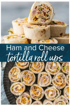 These HAM AND CHEESE RANCH TORTILLA ROLL UPS are the ultimate party appetizer for any holiday get together. These are a must for Christmas. Better make a double batch. #holiday #christmas #appetizer #easyrecipe