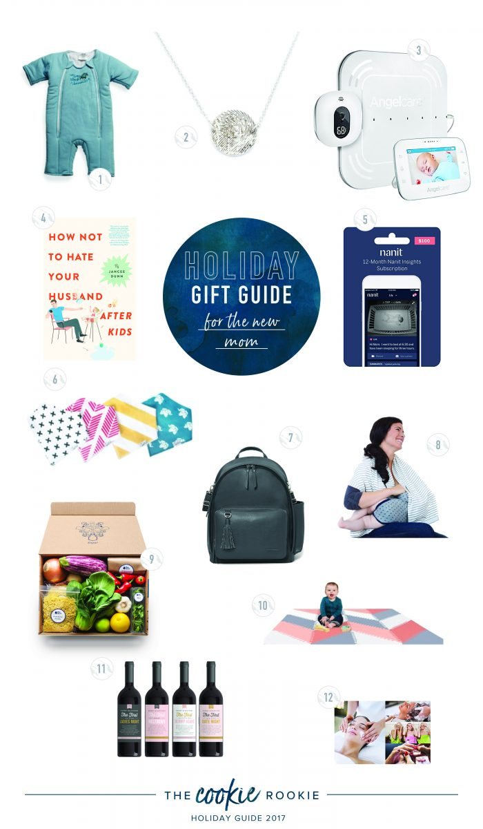 gift guide best gifts for new moms the cookie rookie