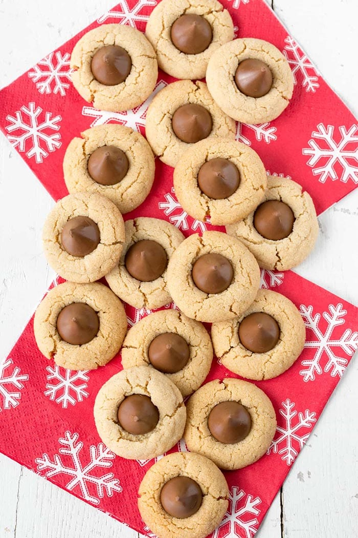 Peanut Butter Blossoms | Saving Room for Dessert