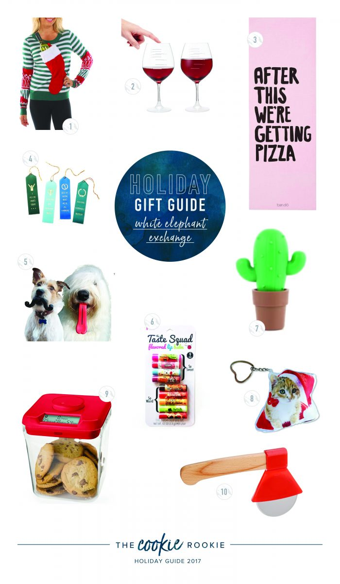 The Hookup Divas White Elephant Gifts