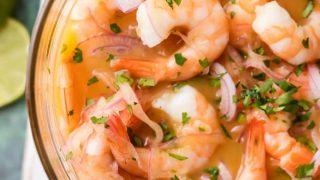 Shrimp Ceviche Recipe (Ceviche de Cameron)