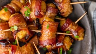 Bacon Wrapped Tater Tots Recipe (Sweet and Spicy!)