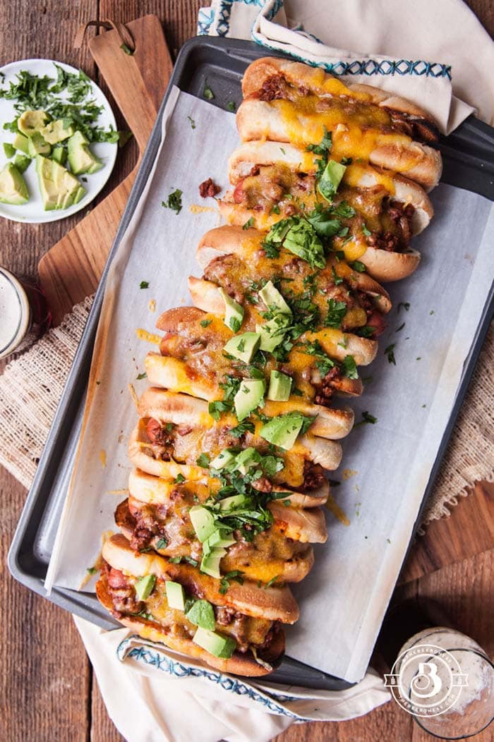 Beer Chili Party Dogs | The Beeroness