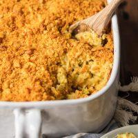 Chicken and Rice Casserole (Cheesy Chicken Broccoli Rice Casserole)