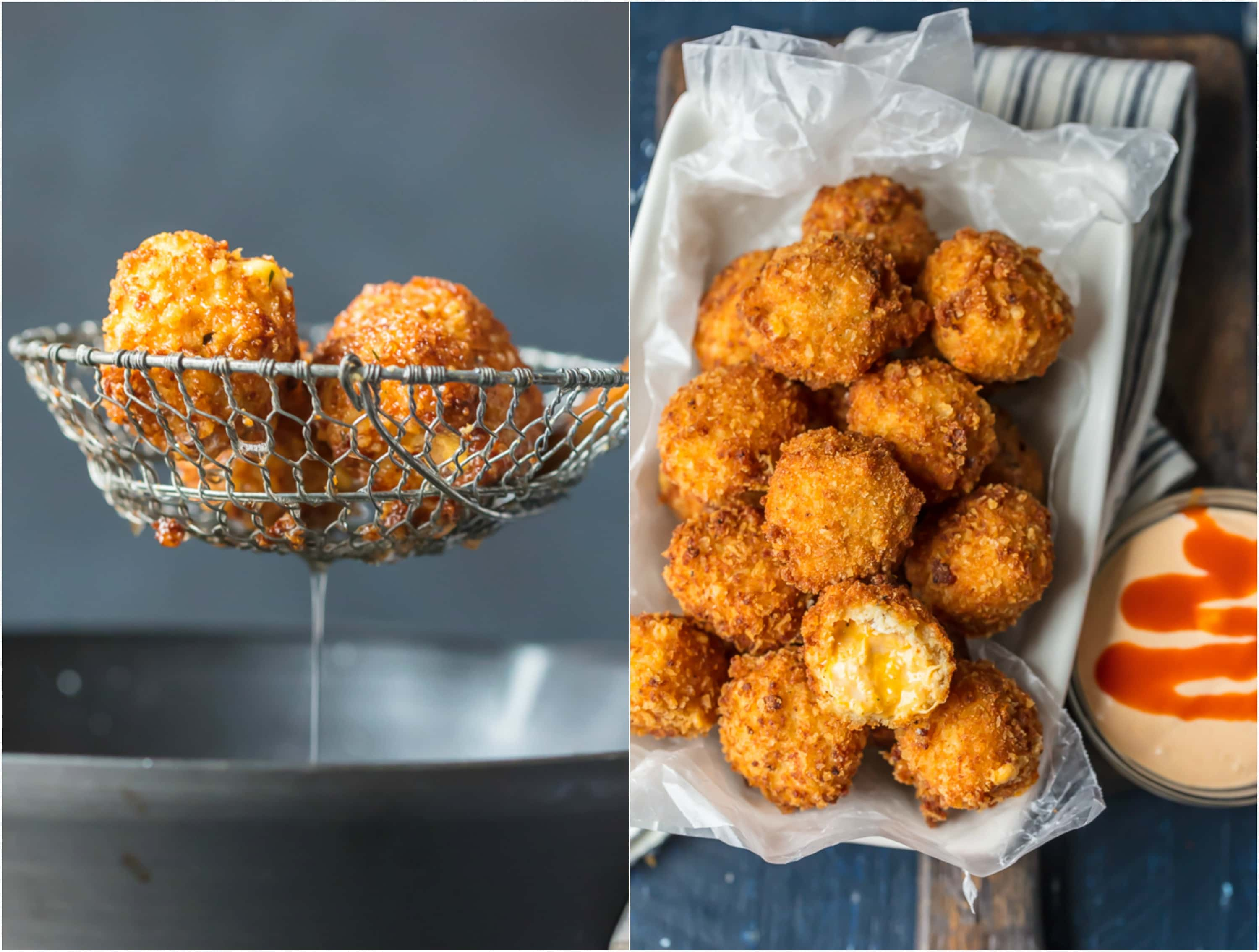 recipe: fried buffalo chicken balls [18]
