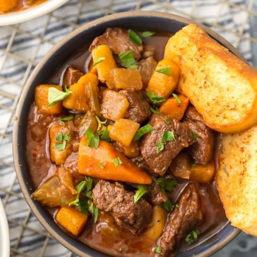 Instant Pot Beef Stew Recipe (5 Spice Beef Stew) is topping my list of favorite Winter soups this year. There's just something about this Beef Stew; so comforting, easy, and unique! It's made in minutes in the pressure cooker and sure to please the entire family. It's loaded with carrots, parsnips, beef, spices, and more! So much flavor and so little effort. This Instant Pot Beef Stew is my kind of recipe.