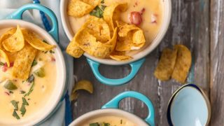 Mexican Cheesy Chicken Chowder Recipe