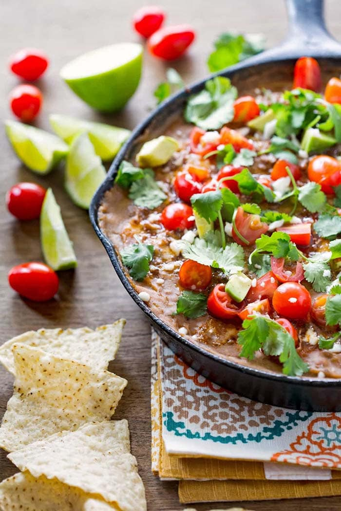 Mexican Layered Dip | I Heart Eating