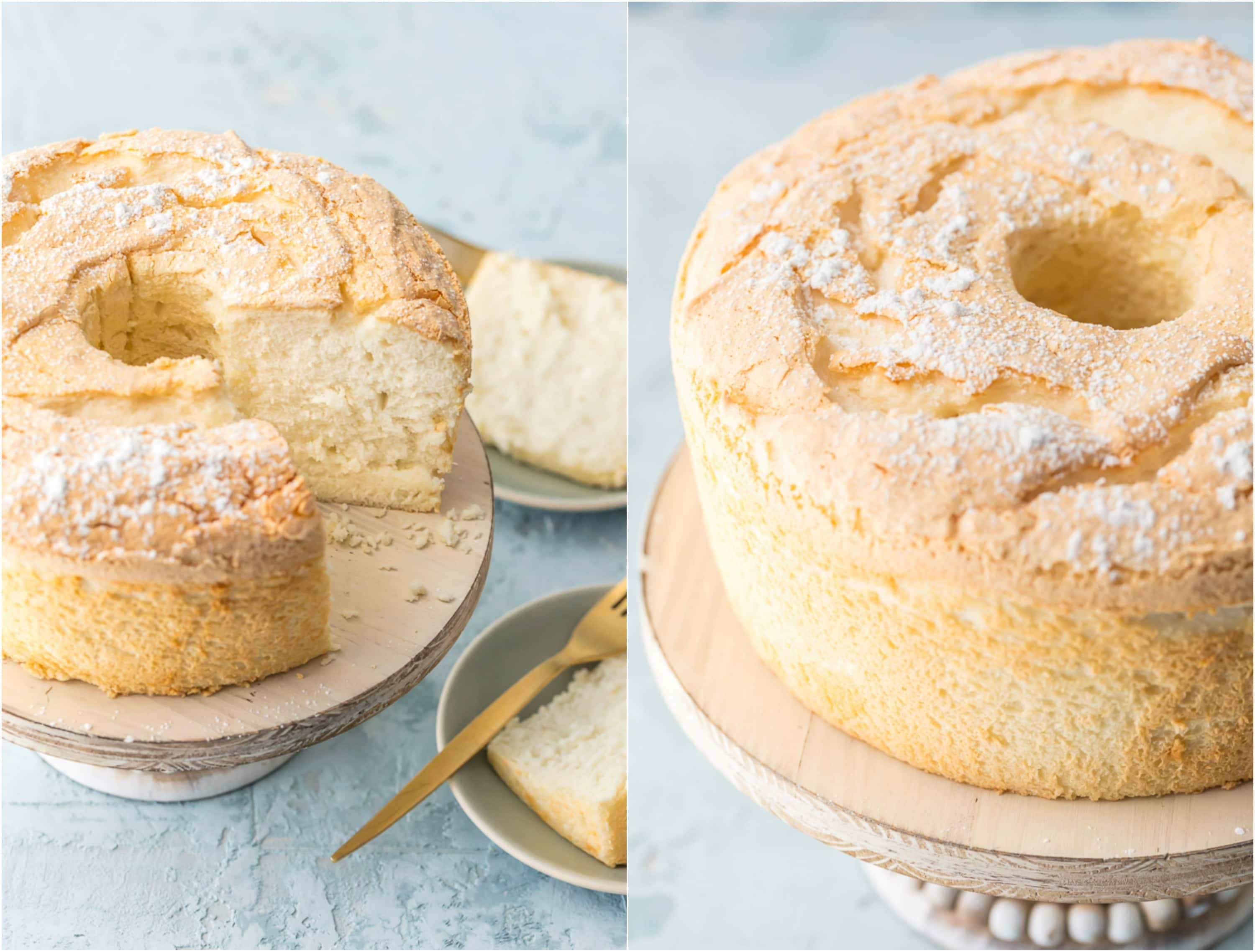 Easy angel food cake recipe how to make angel food cake this truly easy angel food cake is an absolute game changer no more sifting flour forumfinder Images