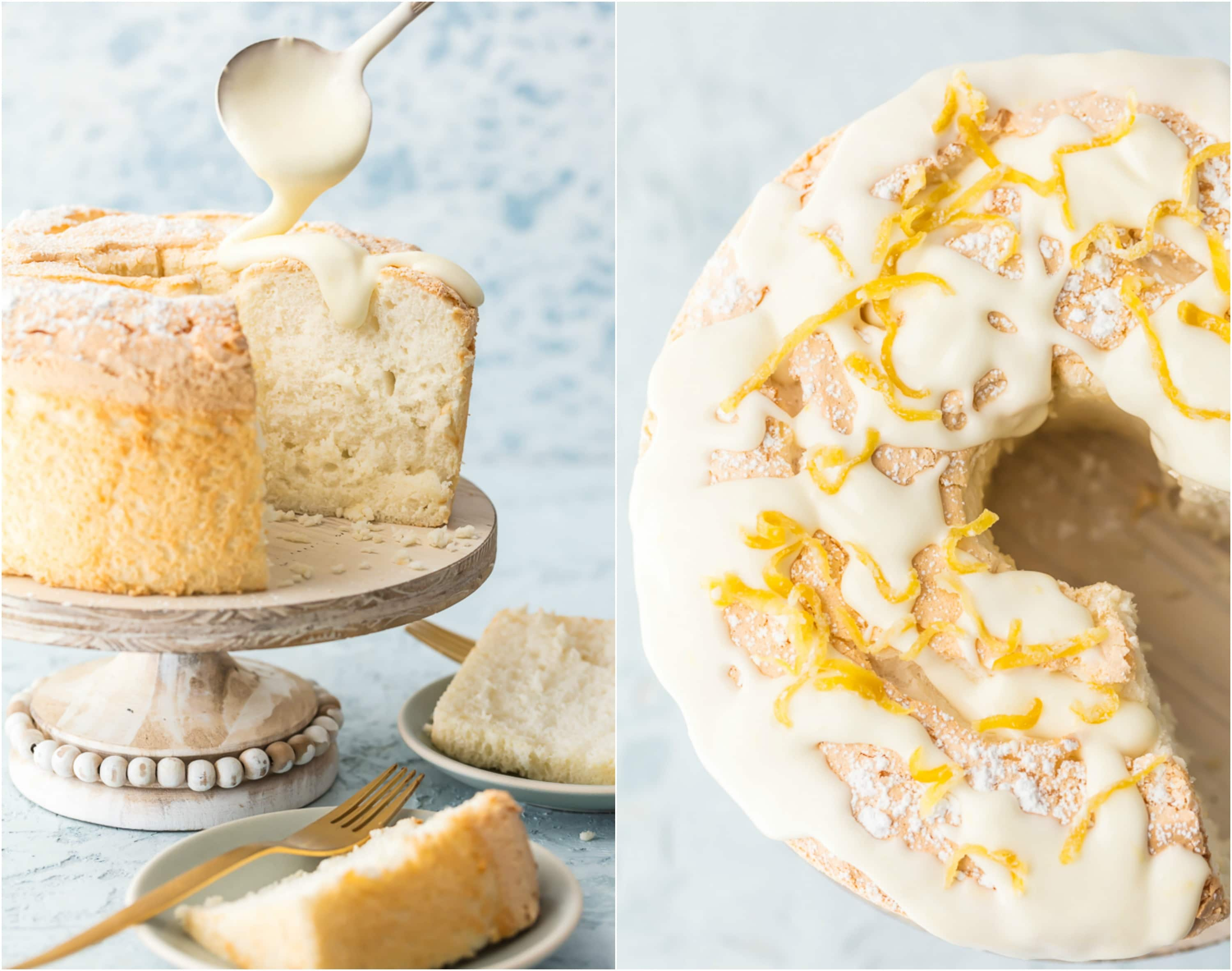 This TRULY EASY ANGEL FOOD CAKE is an absolute game changer! No more sifting flour, room temp eggs, stabilizer, cold oven, or crossing your fingers! This amazing angel food cake is totally fool proof and just as good as if you slaved all day. My mind is blown!