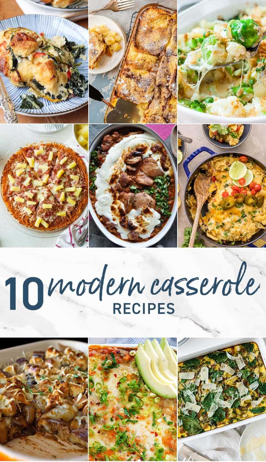 10 Modern Casserole Recipes