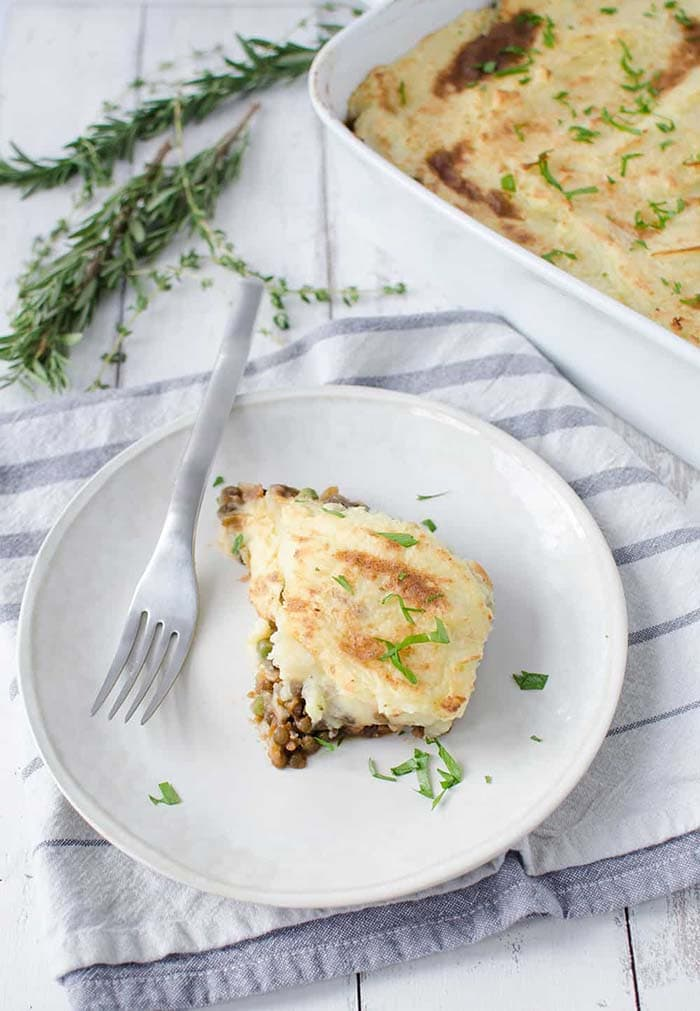 Vegan Lentil Shepherd's Pie | Delish Knowledge