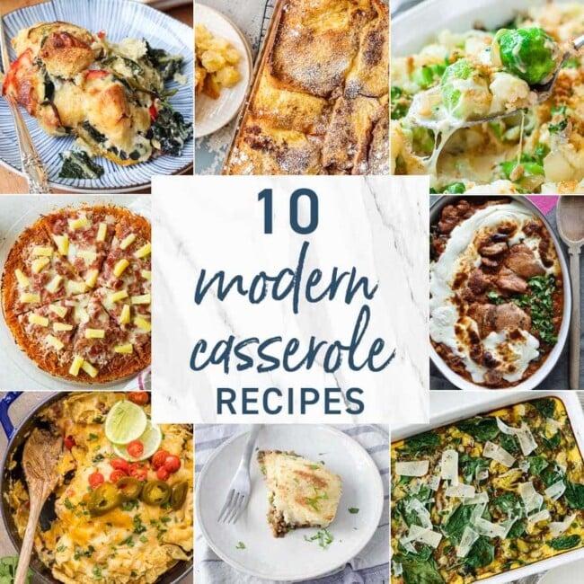10 Modern Casseroles