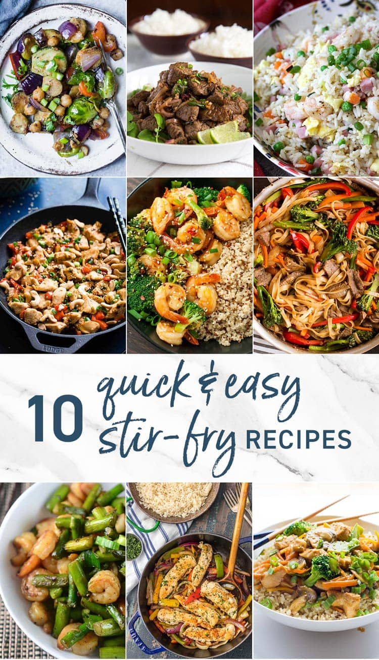10 Quick and Easy Stir Fry Recipes