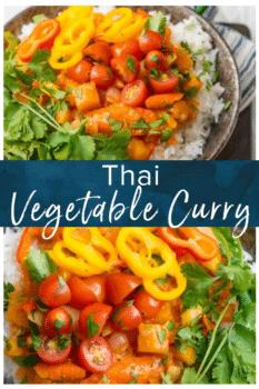 thai vegetable curry pinterest image