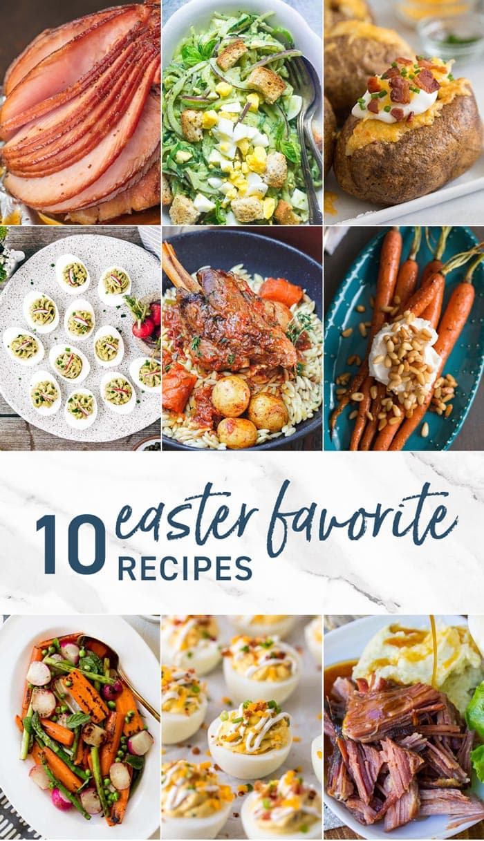 10 Easter Favorite Recipes