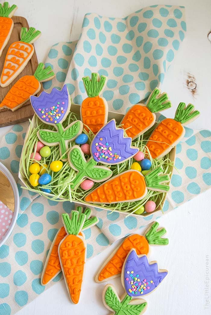 Spring Carrot Sugar Cookies   The Little Epicurean